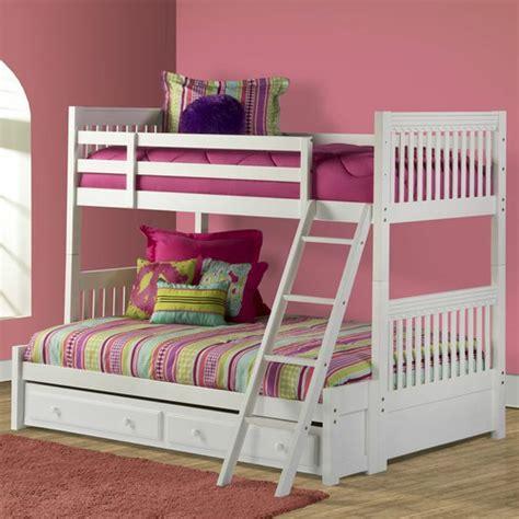 lauren twin over full bunk bed with trundle storage wayfair
