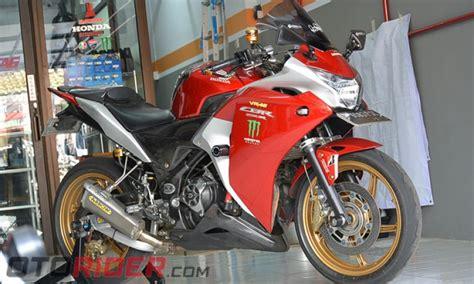 Modifikasi Rr 2011 Kontes by Modifikasi Honda Cbr250r 2011 Hir Setara Harga Cbr250rr