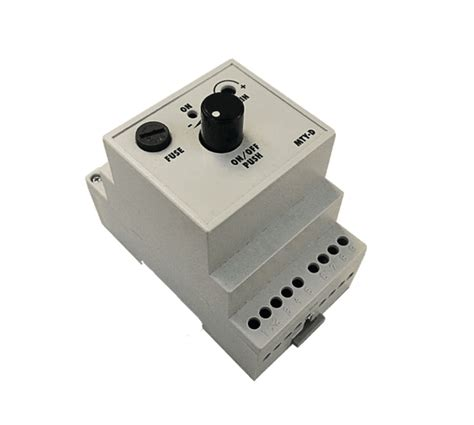 Ac Motor Controller by Ac Motor Speed Controller Mty Din 2 5a 230v Tronic Controls