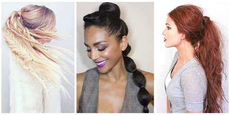 5 Easy Ponytail Looks For The Work Week