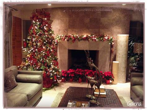 decoracion de navidad rojo  verde ana galena