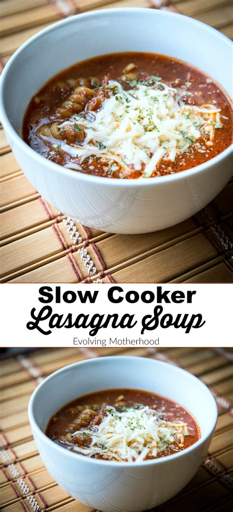 great cooker recipes this slow cooker lasagna soup recipe is so delicious it s perfect for the whole family and a