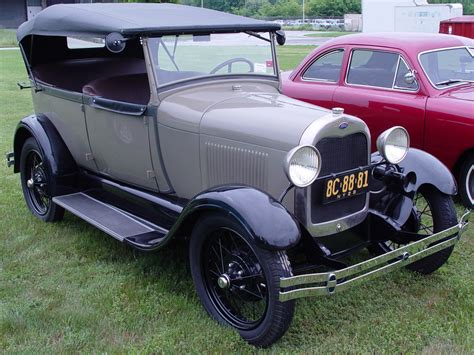 Ford Models by 1928 Ford Model A