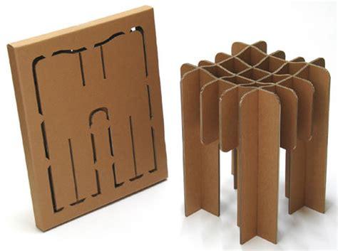 flat pack furniture eco friendly cardboard chair designs