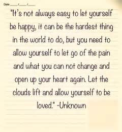Quotes About Letting Go Pain