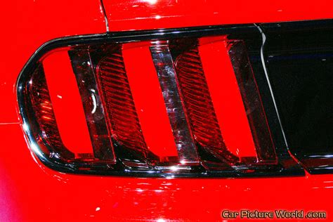 2015 Mustang Prototype Tail Lights Picture