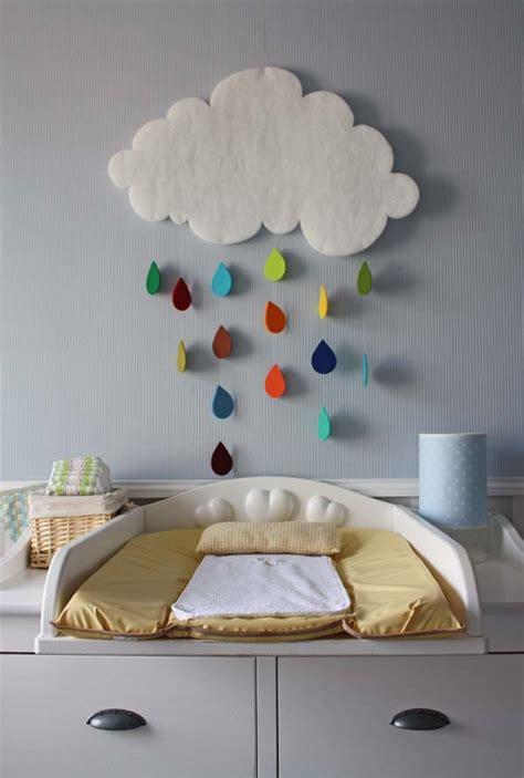 gorgeous rain cloud mobile baby room decor home design