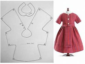 514 best images about dolls clothes patterns for an 18 With dress a doll template