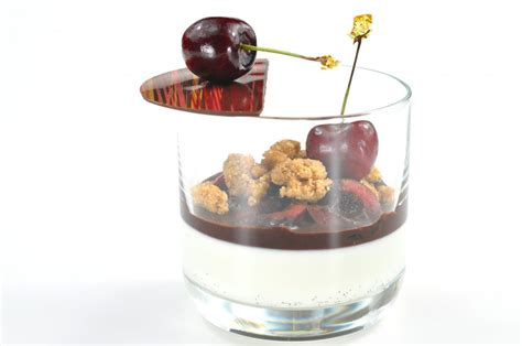 desert in a glass dessert in a glass recipe pastry chef author eddy van damme