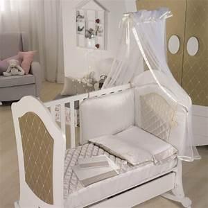Parure Lit Bebe Fille : tour de lit micuna alexa tour de lit b b le tr sor de b b ~ Teatrodelosmanantiales.com Idées de Décoration