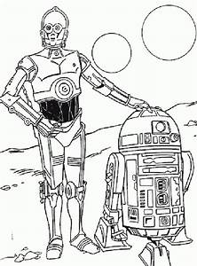 C3PO 4 ABC Coloring Pages Kunst Grundschule