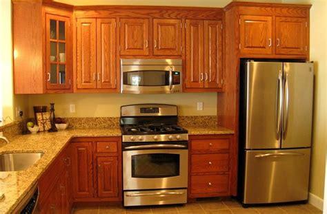 5 ways how oak kitchen cabinets save small kitchen