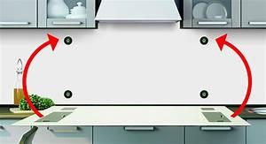 Glasplatte Für Küchenrückwand : anleitung fachgerechte befestigung k chenr ckwand frag mutti ~ Articles-book.com Haus und Dekorationen