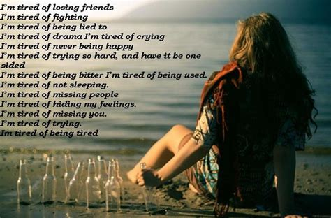 Im Tired Fighting Quotes
