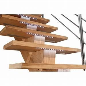 Kit Led Escalier : kit clairage led pour escalier sogem ~ Melissatoandfro.com Idées de Décoration