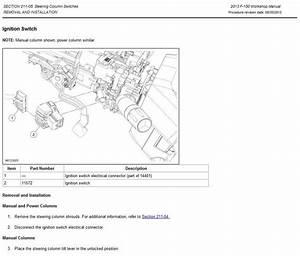 1995 Ford F150 Steering Column Diagram