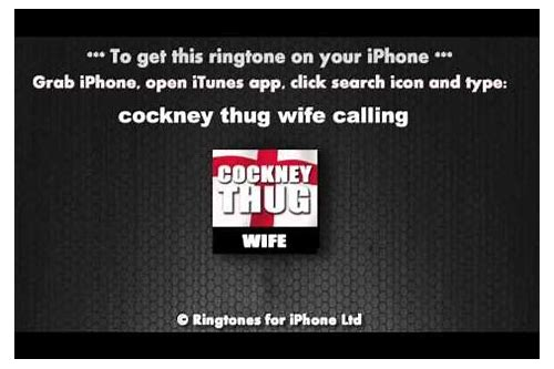 free ringtones your wife is calling