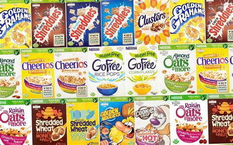 Nestlé to cut sugar in its cereals by 10% by the end of ...