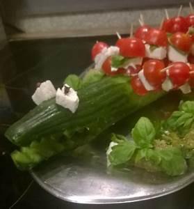 Tomate Mozzarella Spieße : unsere sylvester snacks lachscreme gurkenkrokodil und ~ Lizthompson.info Haus und Dekorationen
