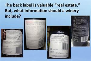 The back wine label: What information and features appeal ...