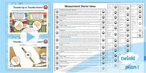 Planit Maths Y3 Measurement Starter Ideas Pack