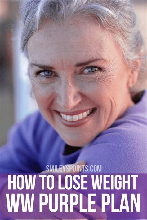 weight watchers purple plan