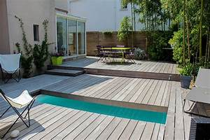 terrasse bois bord de piscine wrastecom With bord de piscine en bois