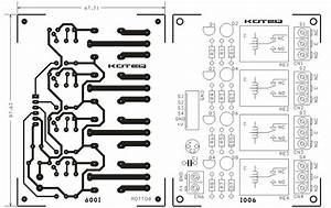 4 Channel Relay Board Using Sugar Cube Relay 12v  U0026 Bc547 Driver Transistor