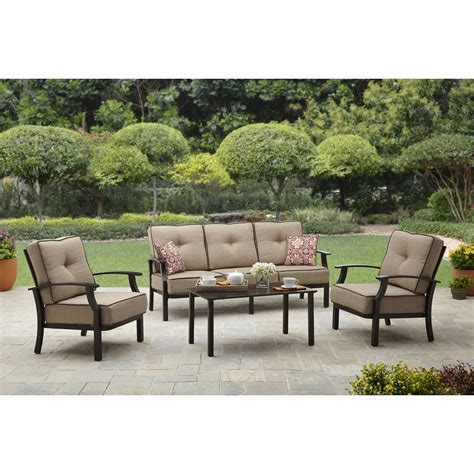 patio loveseat with ottoman better homes and gardens clayton court 5 patio