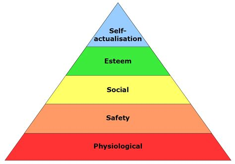 hierarchie cuisine classics maslow s hierarchy of needs careers in theory