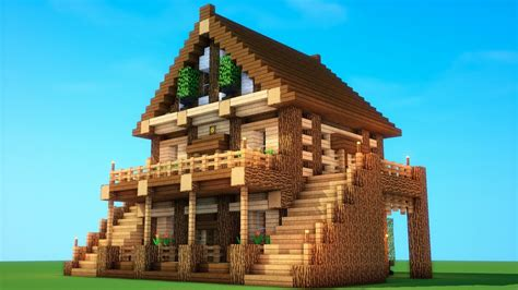 awesome house  minecraft survival