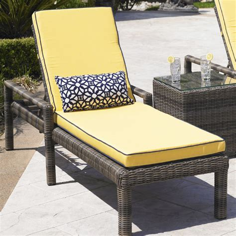 northcape bainbridge chaise lounge universal patio furniture