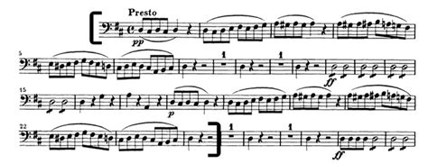 mozart cello excerpt from the marriage of figaro audition