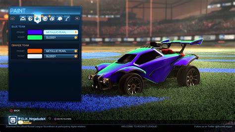 how to make the galaxy paintjob in rocket league youtube