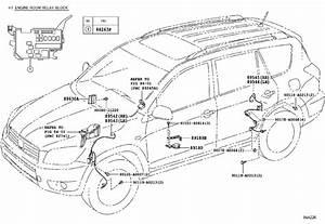 Toyota Rav4 Abs Wheel Speed Sensor Wiring Harness  Right