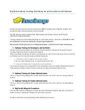 Hadoop Admin Resume by Hadoop Big Data Resume