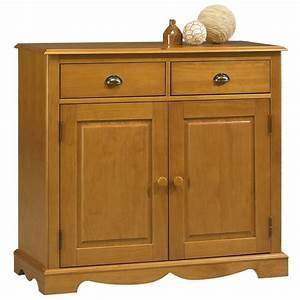 Meuble Bas Sejour : bahut buffet pin miel de style anglais 2 portes beaux meubles pas chers ~ Teatrodelosmanantiales.com Idées de Décoration