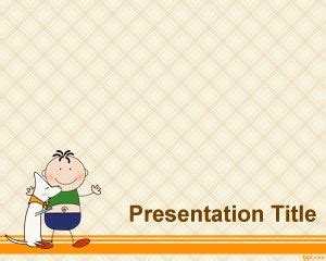 early childhood powerpoint template     template