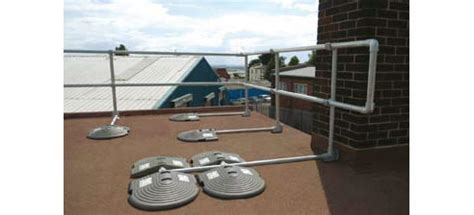 free standing roof edge protection solid dynamics wetherill park nsw 2164