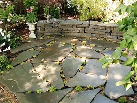 build  stone accent wall hgtv
