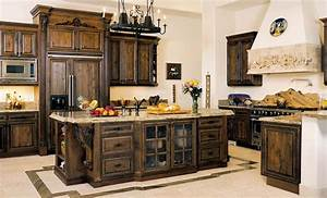 alluring tuscan kitchen design ideas with a warm With kitchen colors with white cabinets with disney world stickers