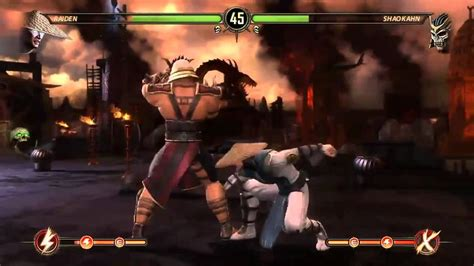 The N00b Guide To Beating Shao Kahn Vs Raiden Fight In