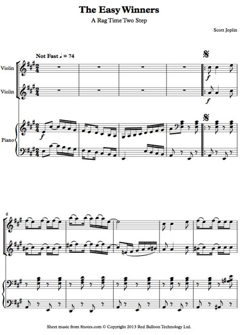 Easy Jazz Piano Duets Free Sheet Music  Let It Snow Sheet