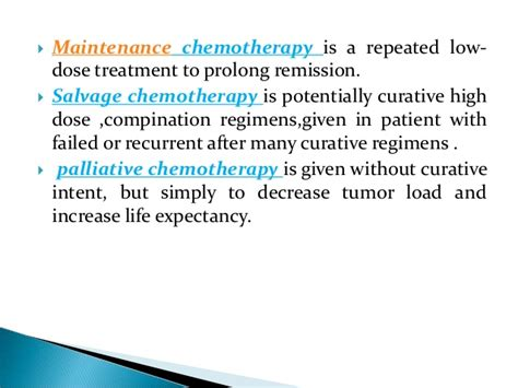 chemotherapy  hematological diseases