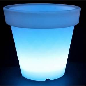 Cache Pot Interieur : cache pot lumineux ext rieur int rieur 48 diodes l achat ~ Premium-room.com Idées de Décoration