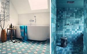 faience turquoise salle de bain 8 deco salle de bain With decoration salle de bain bleu