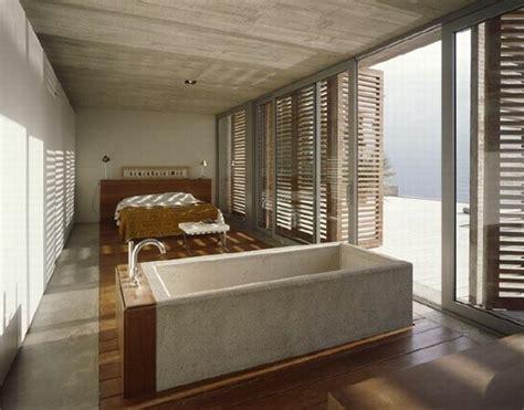 salle de bain ouverte dans chambre décoration salle de bain ouverte sur chambre