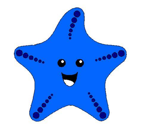dibujo de estrella de mar pintado por aliciapeque en