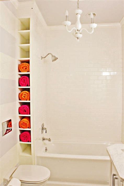 ways  creatively add storage   bathroom