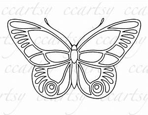 beautiful butterfly coloring pages - beautiful butterfly printable coloring page c by ccartsy
